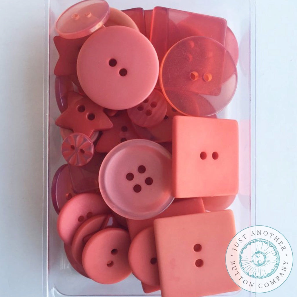 Just Another Button Company | Apricot Party Pack