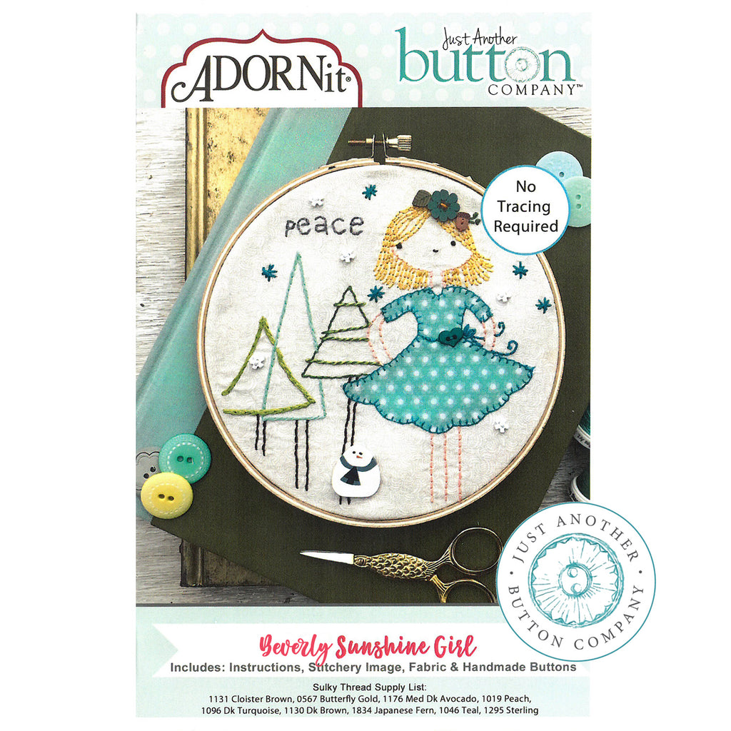 Embroidery Kit - Beverly