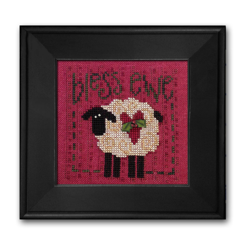 JABC - Cross Stitch Patterns - Bless Ewe
