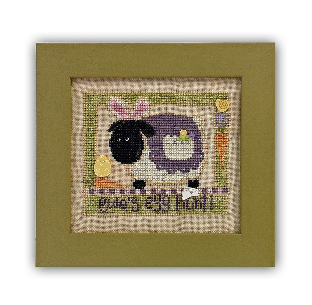 JABC - Cross Stitch Patterns - Ewe's Egg Hunt