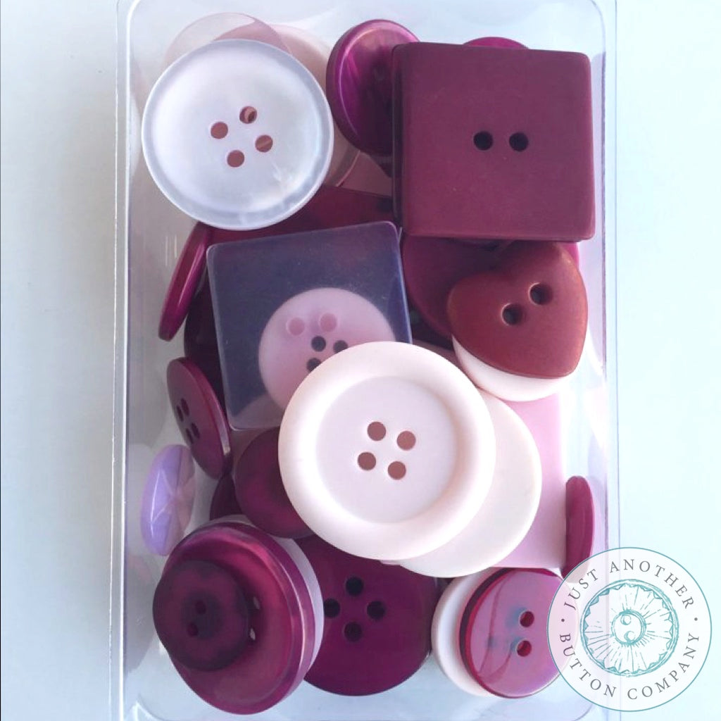 Just Another Button Company | Cranberry Party Pack