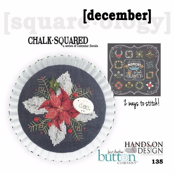 JABC - Cross Stitch Patterns - Chalk Squared December