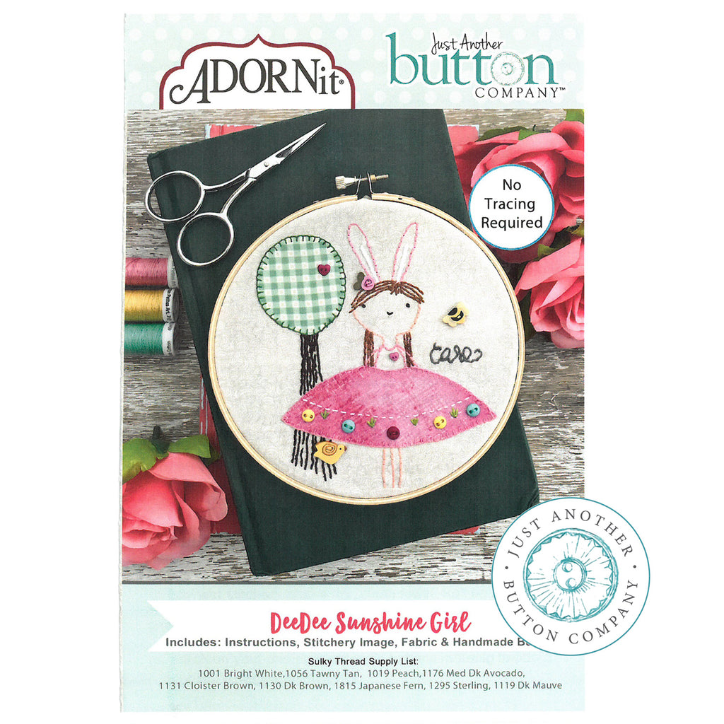 Embroidery Kit - Dee Dee