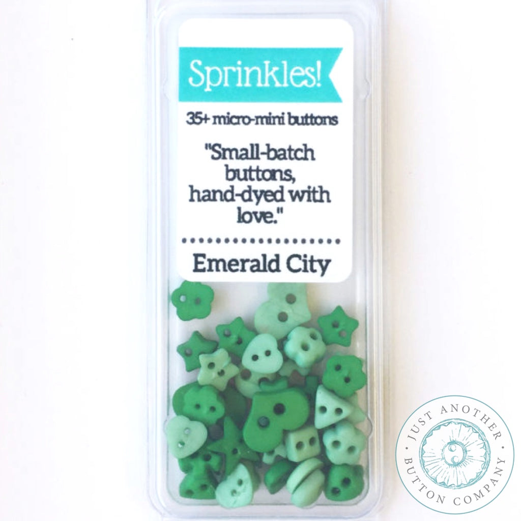 Just Another Button Company | merald City Sprinkles Pack