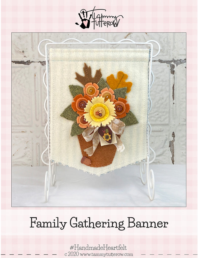 Family Gathering Banner Pattern PDF