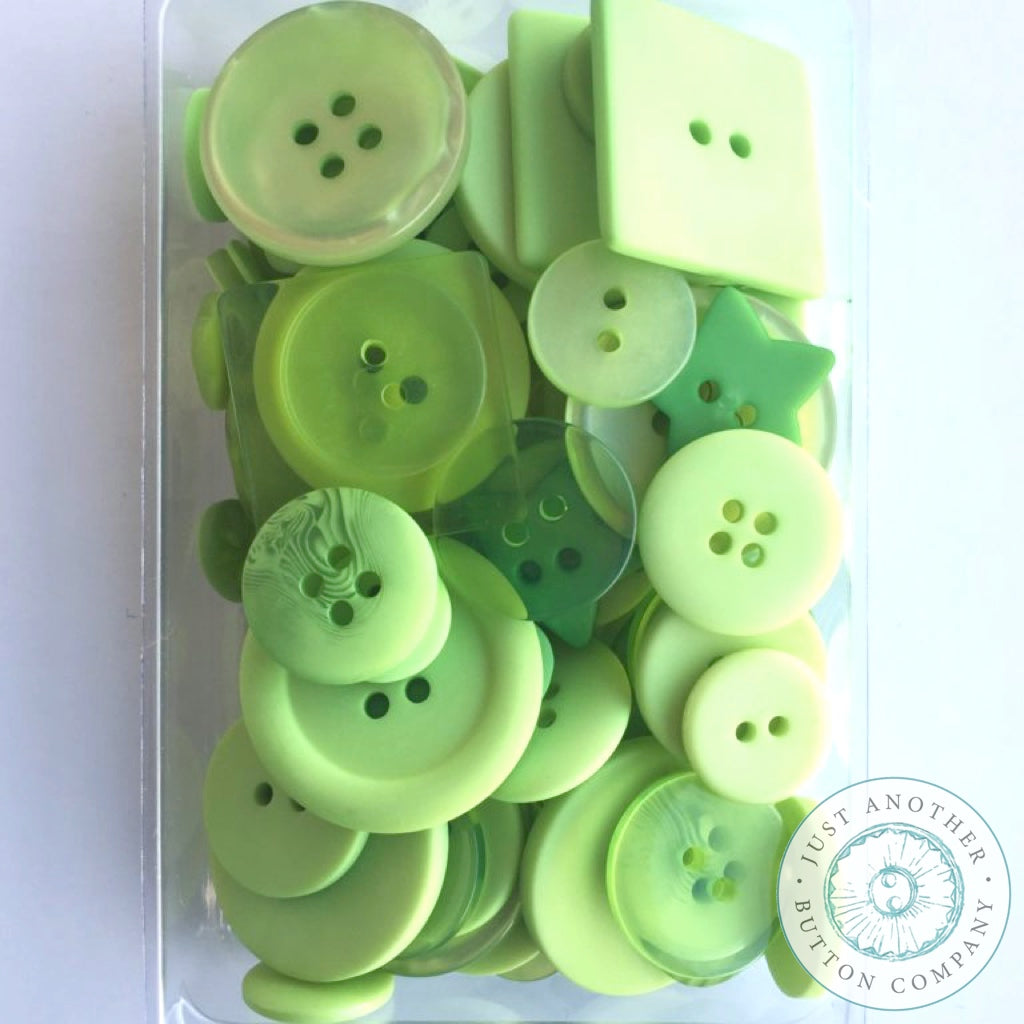 Just Another Button Company | Green Glow Party Pack