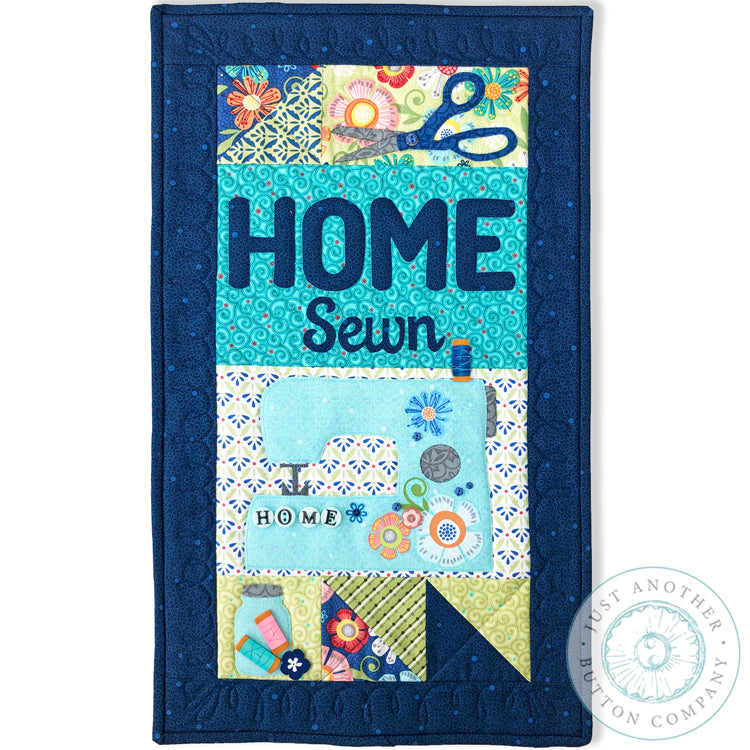 HOME Sewn Mini Quilt Pattern PDF