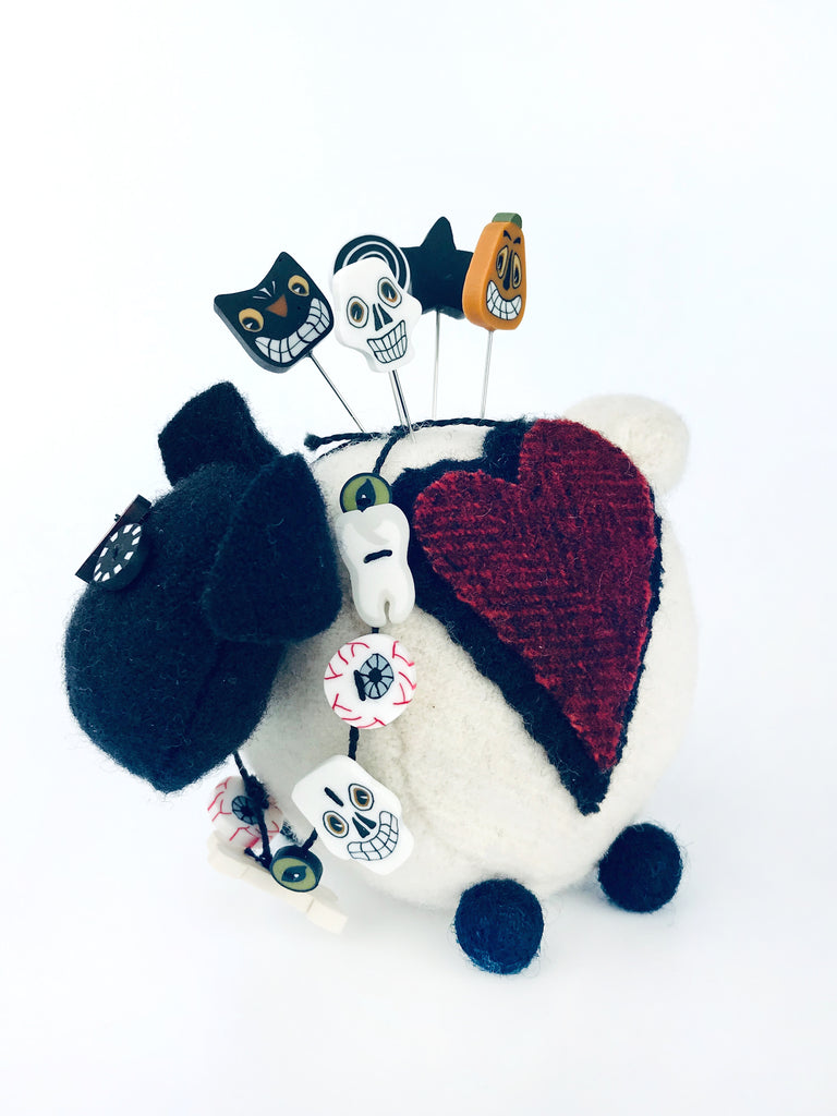 Ewe Look Fabulous! for Ghouling Pincushion