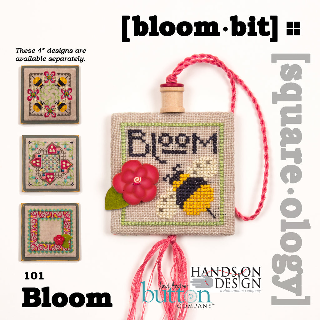JABC - Cross Stitch - [square.ology] bloom.bit