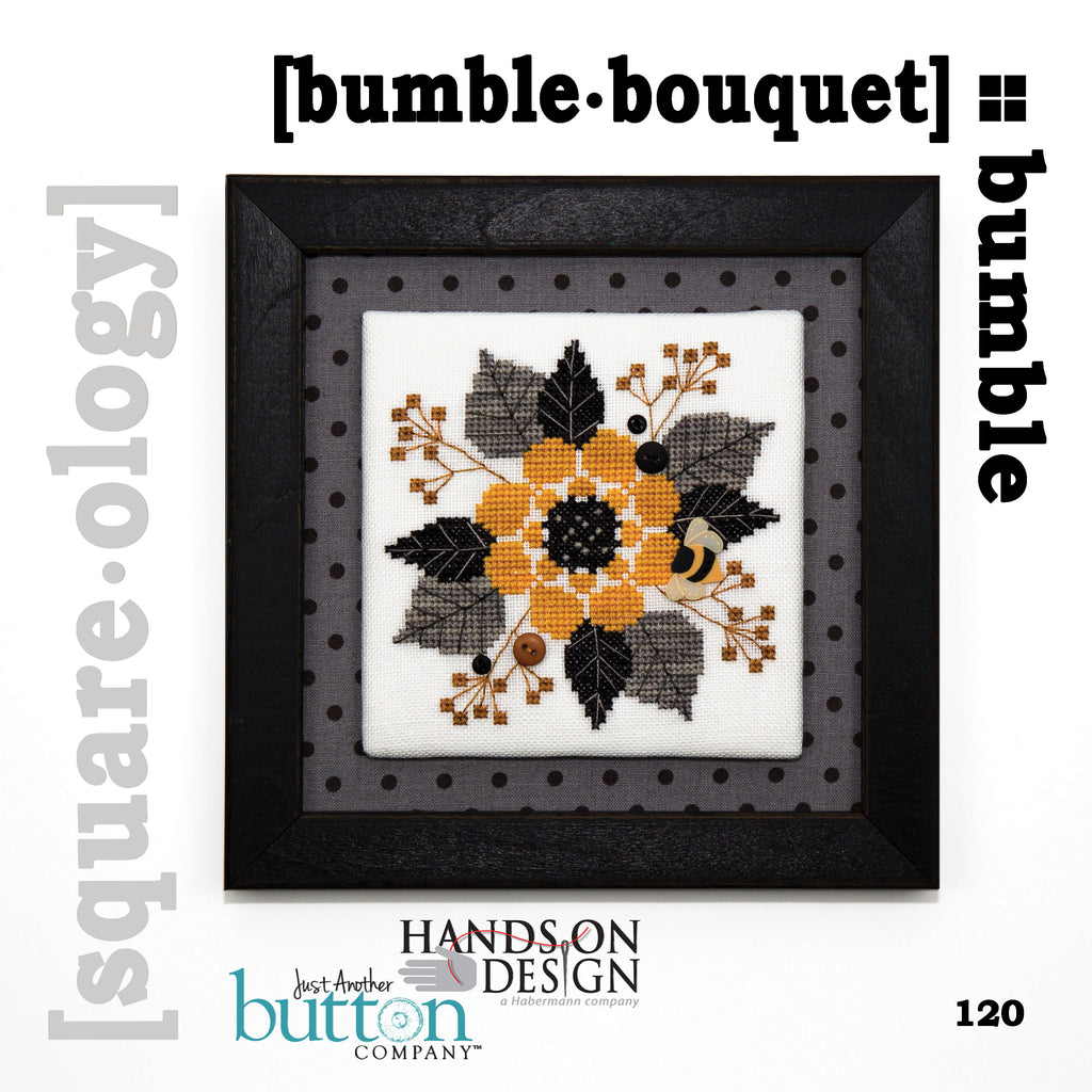 JABC - Cross Stitch - [square.ology] bumble.bouquet