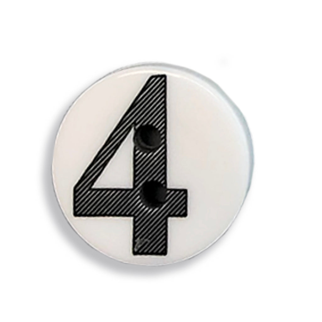 """4"" Button (white)"