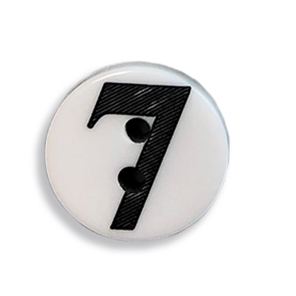 """7"" Button (white)"