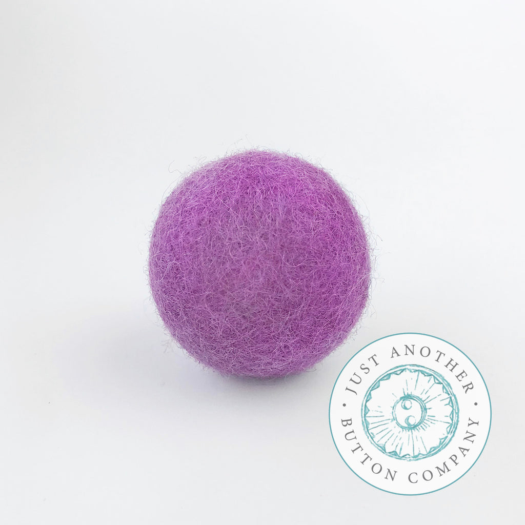 Lavender Felted-Wool Ball - 3CM