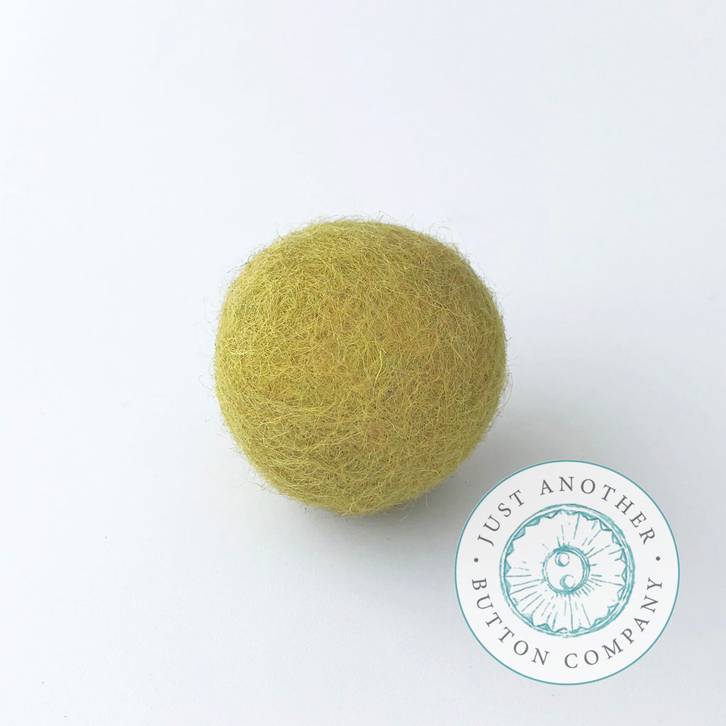 Limon Felted-Wool Ball - 3CM