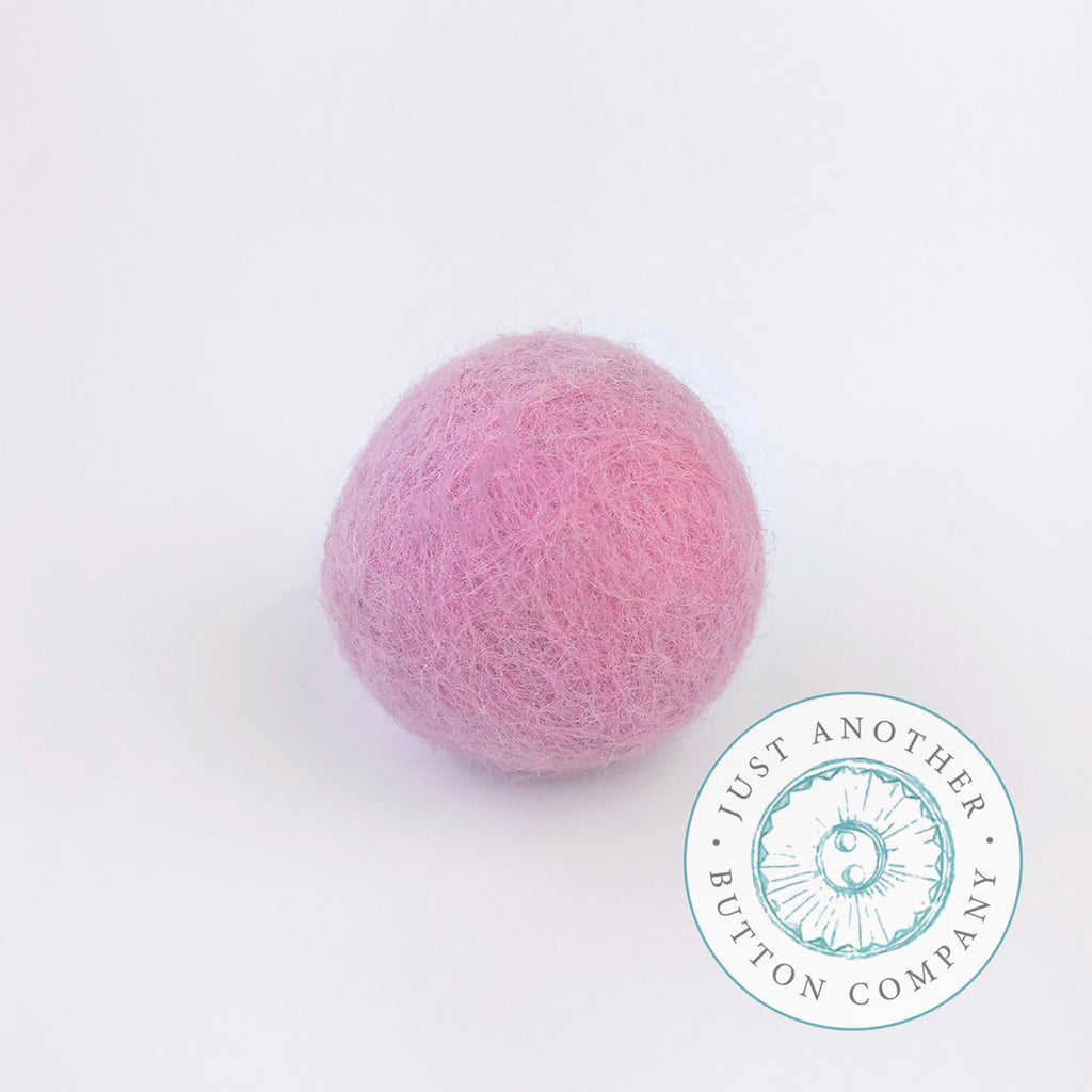 Poodle Felted-Wool Ball - 3CM