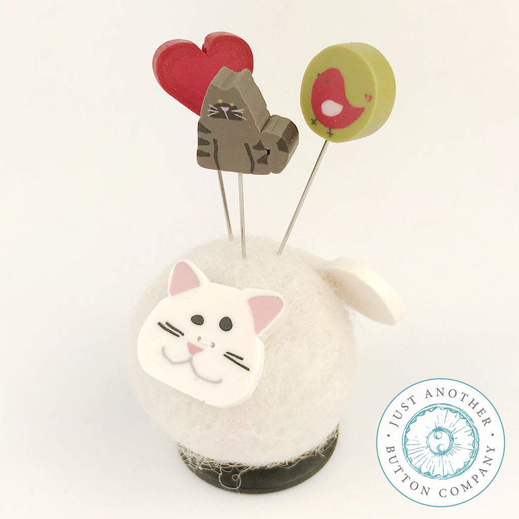 Button Buddy - Katie Kat - PDF Pattern