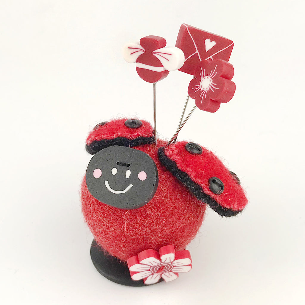 Button Buddy - Lilly Ladybug - PDF Pattern