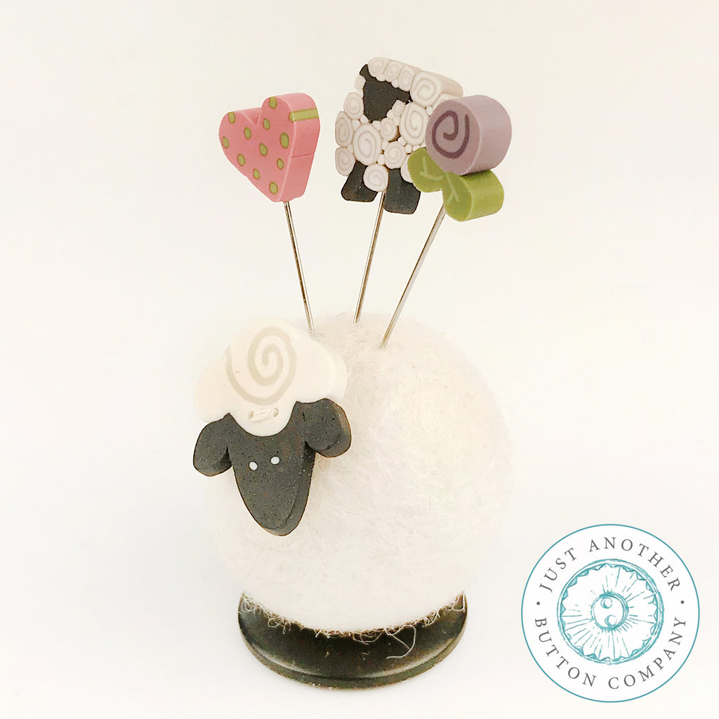 Button Buddy - Sherry Sheep - PDF Pattern