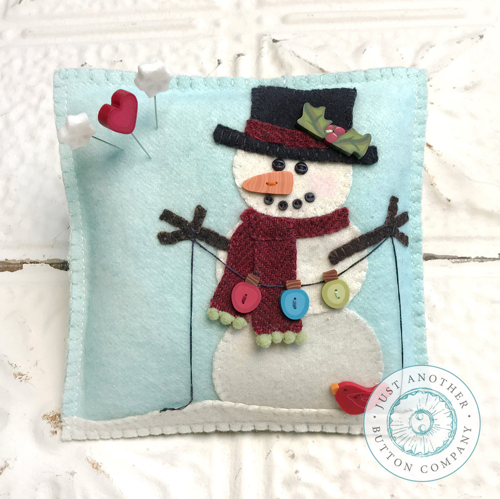 JABC - Snow Many Buttons - Button Pack with free pattern PDF by Tammy Tutterow