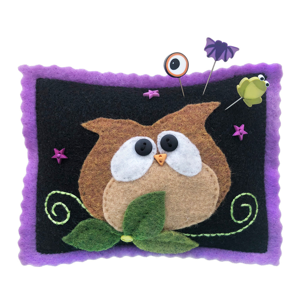 Whoo Goes There? Pincushion Kit