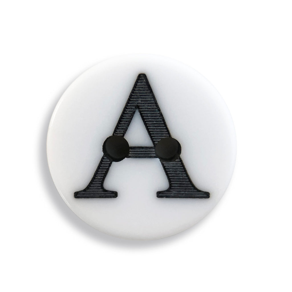 JABC - white letter A button