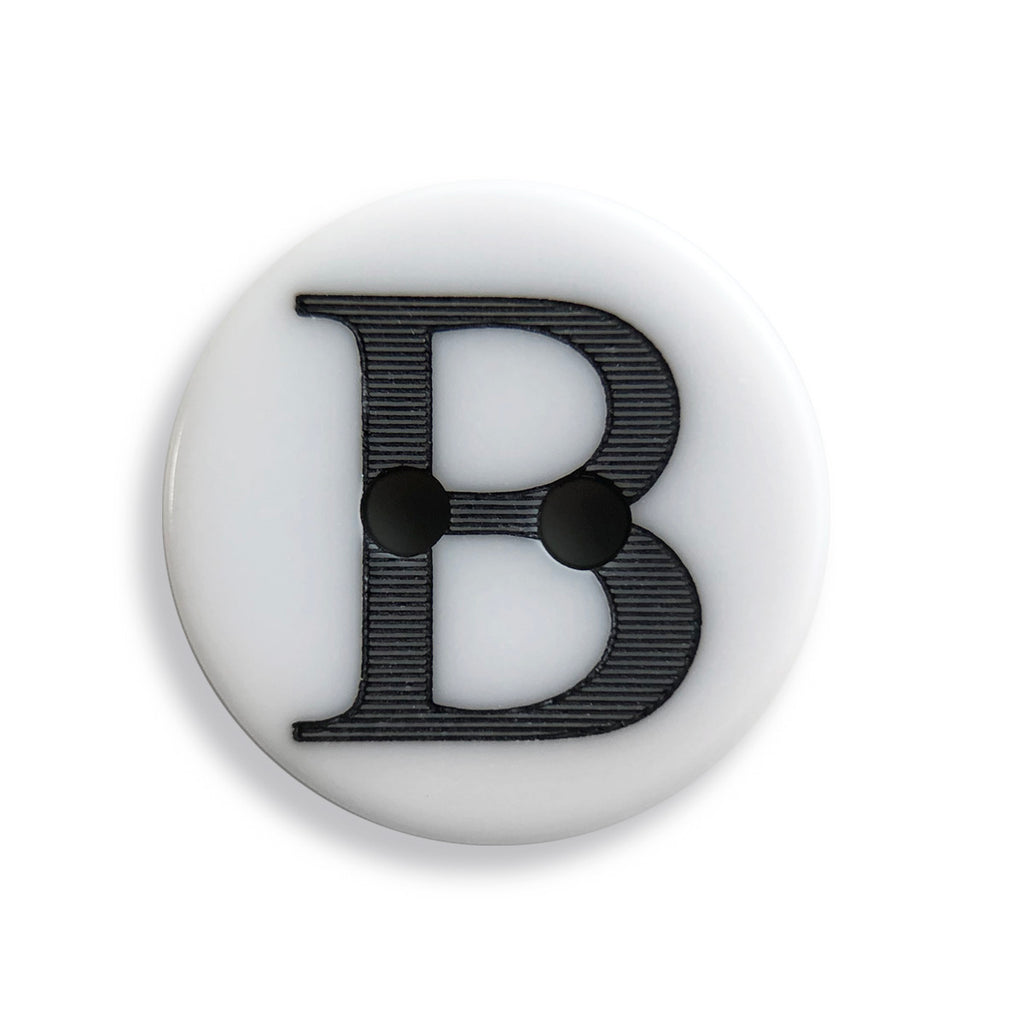"""B"" Button (white)"