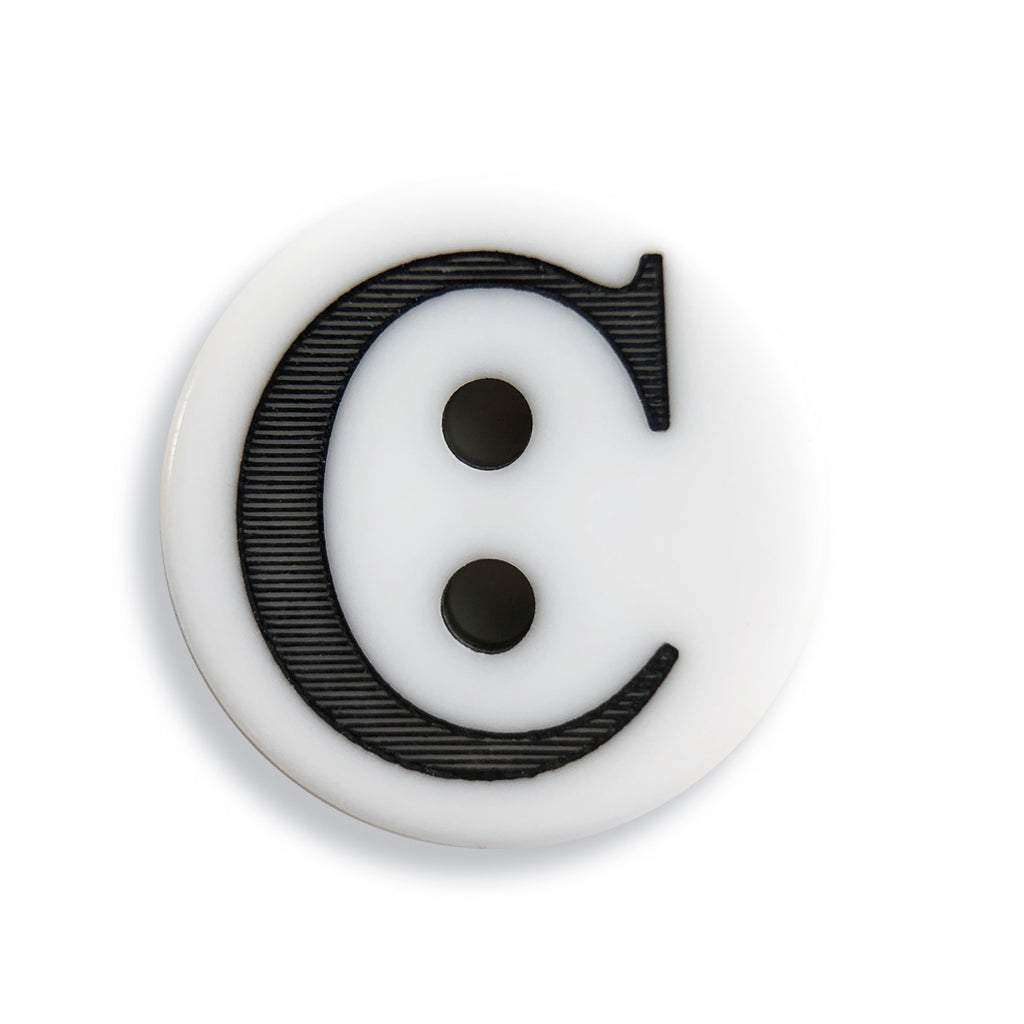 """C"" Button (white)"