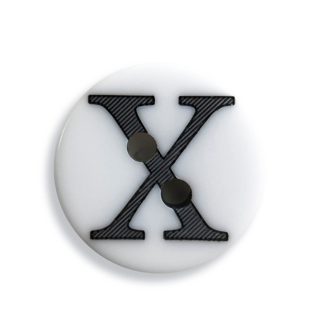 """X"" Button (white)"