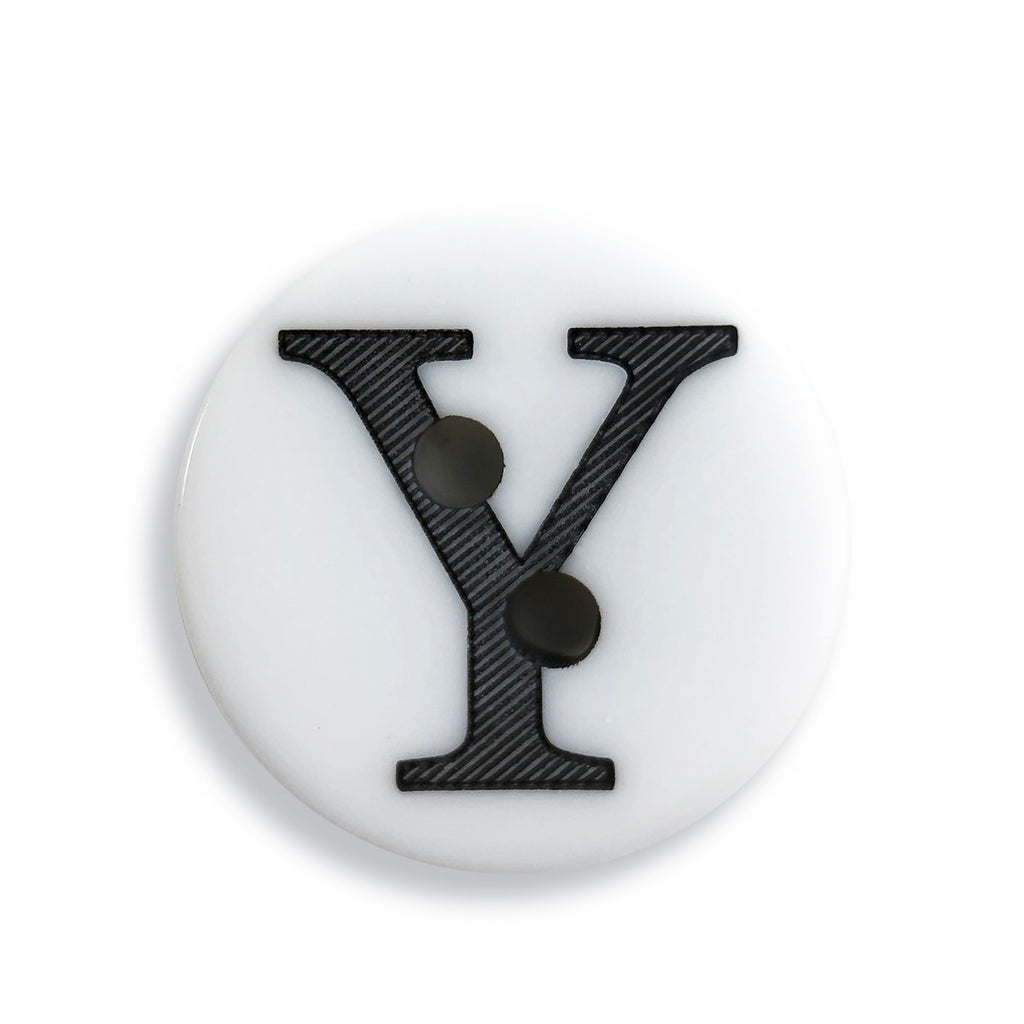 """Y"" Button (white)"