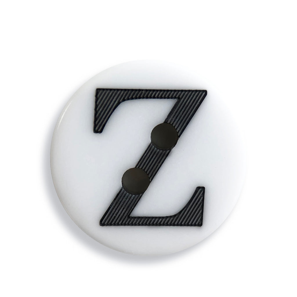 """Z"" Button (white)"