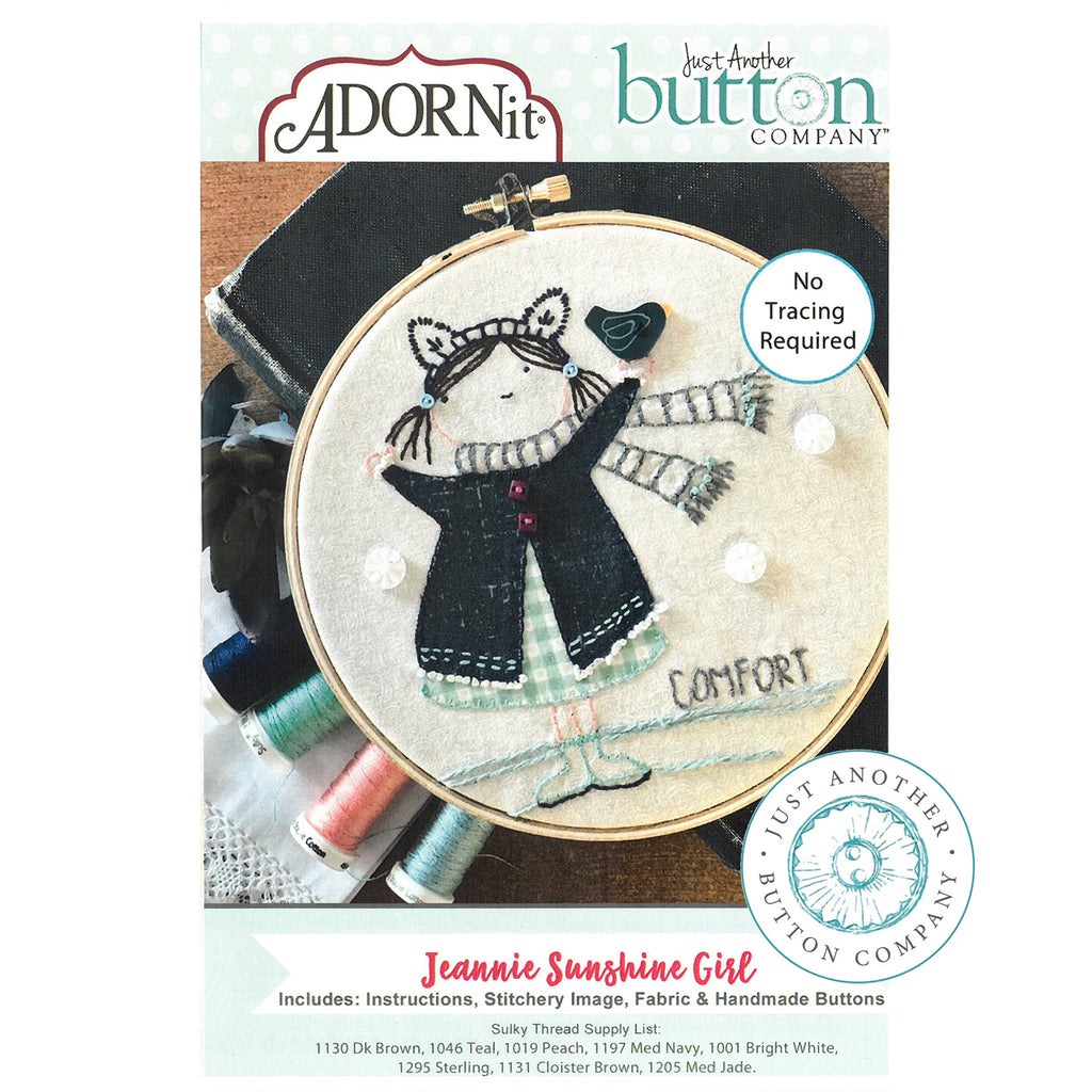 Embroidery Kit - Jeannie