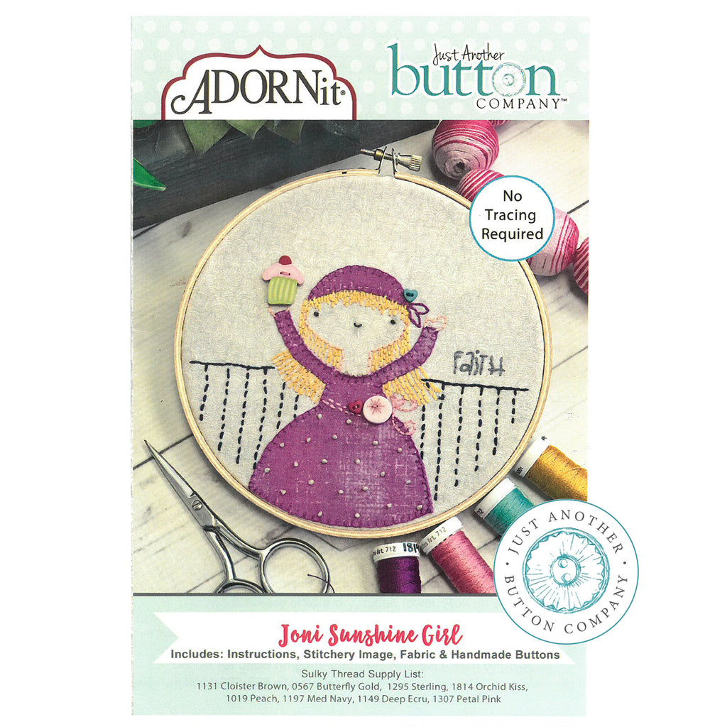 Embroidery Kit - Joni
