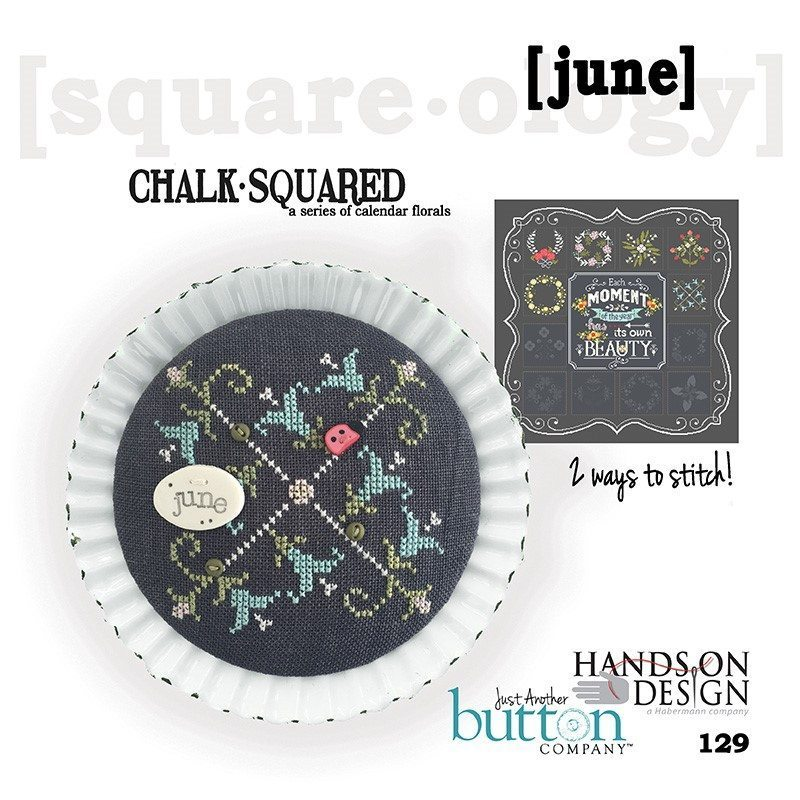 JABC - Cross Stitch Patterns - Chalk Squared June