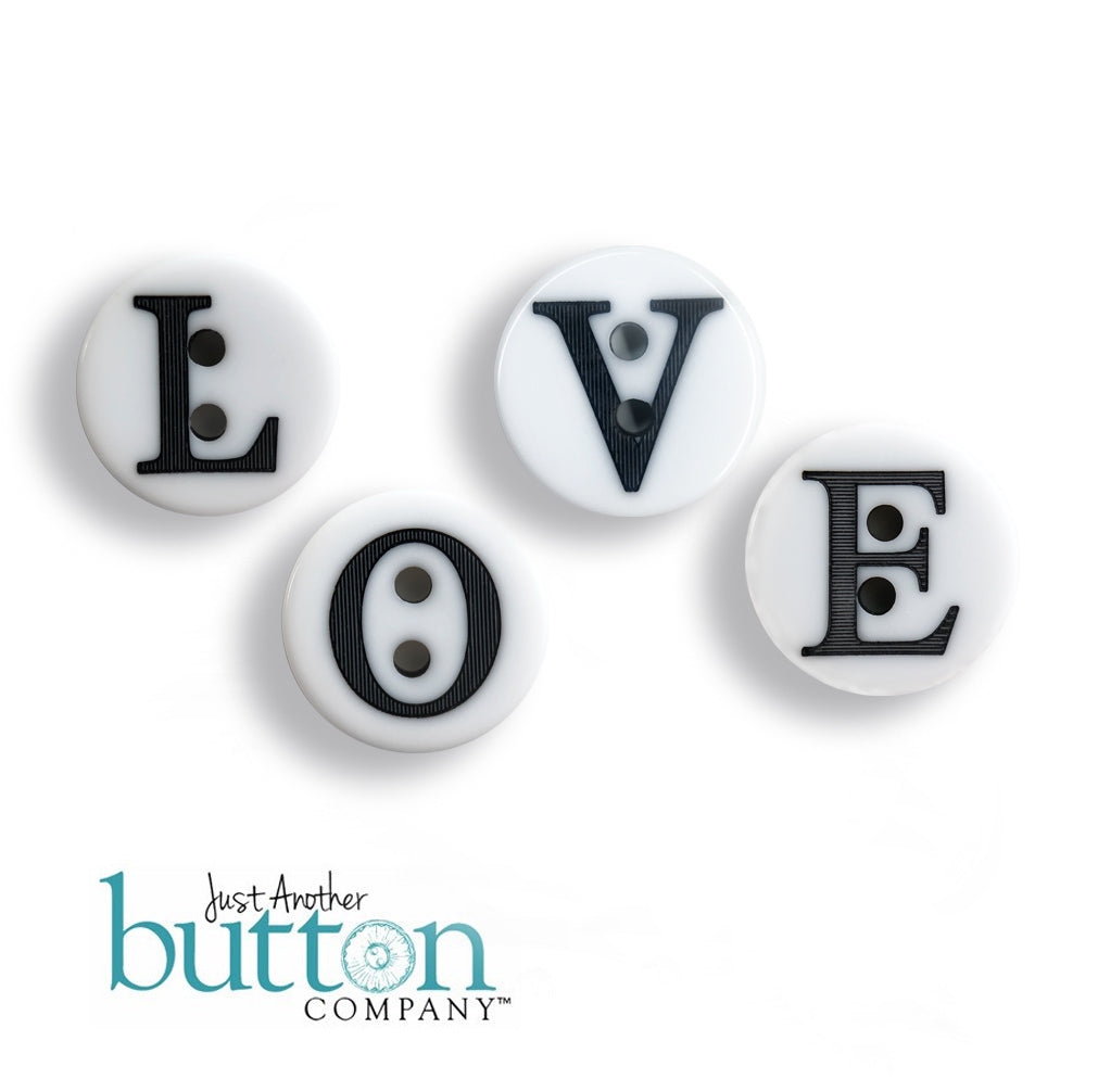 LOVE - Just-for-Fun Button Collection