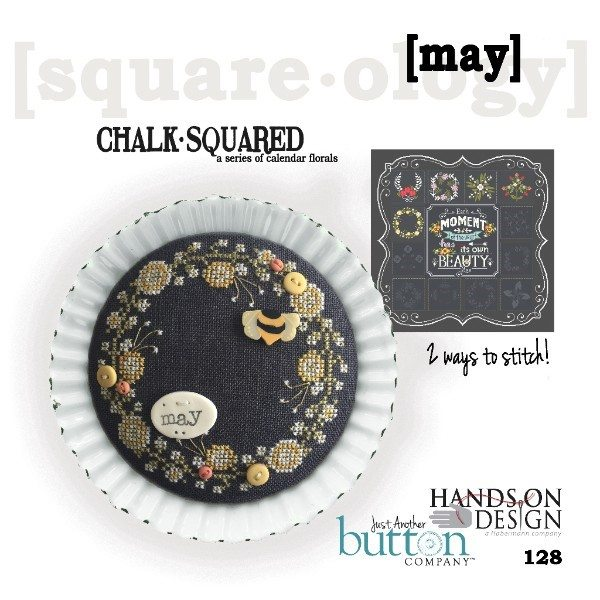 JABC - Cross Stitch Patterns - Chalk Squared May