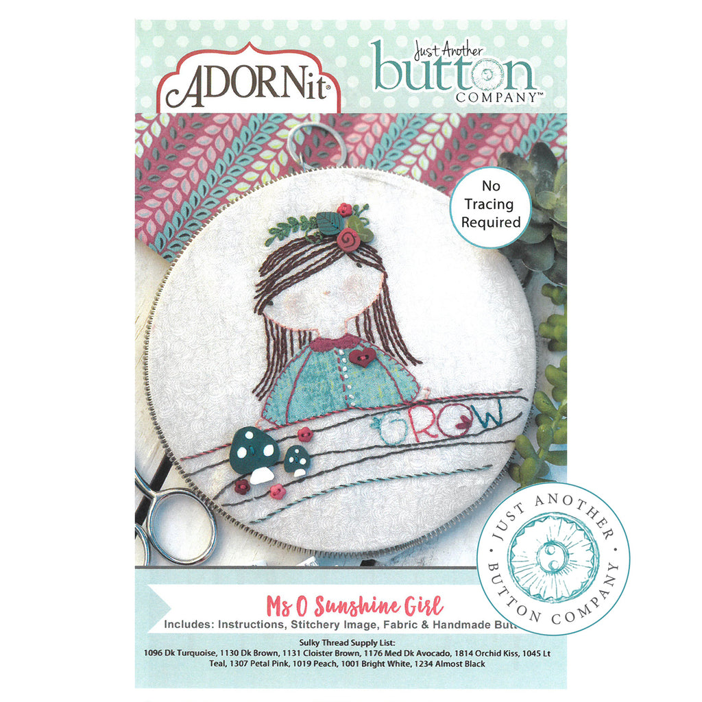 Embroidery Kit - Ms O
