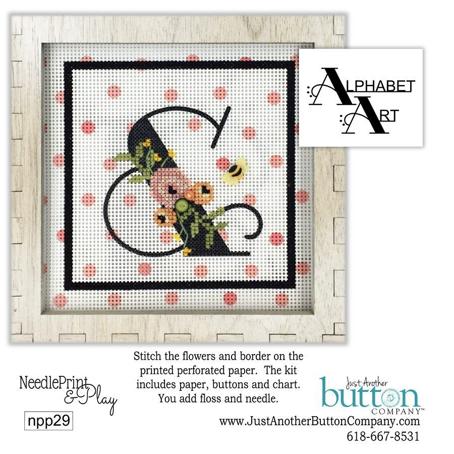 JABC - Needleprint & Play Cross Stitch - &