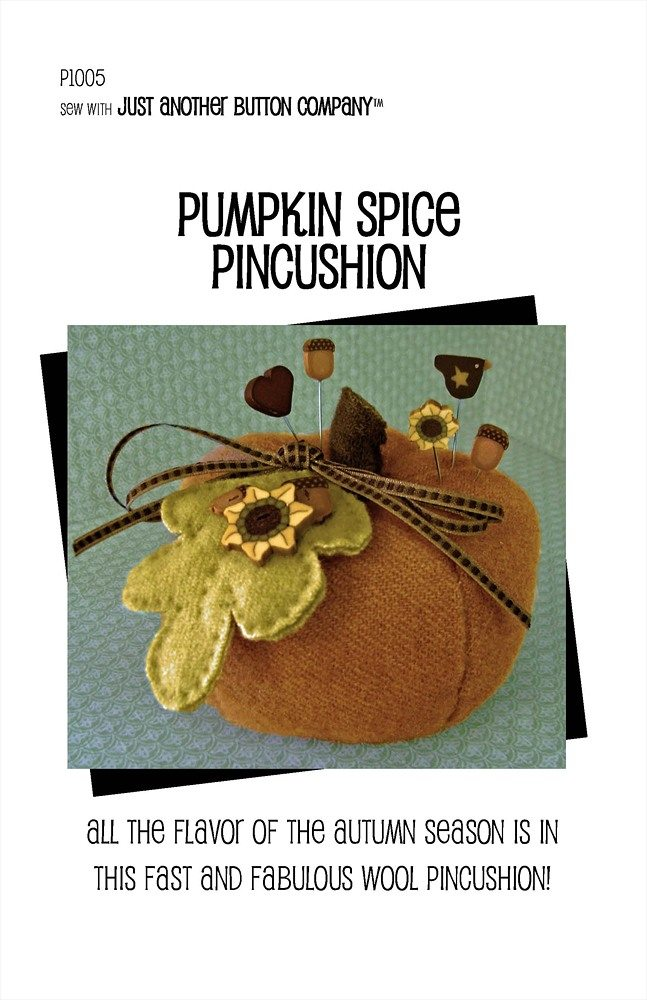 Pumpkin Spice Pincushion