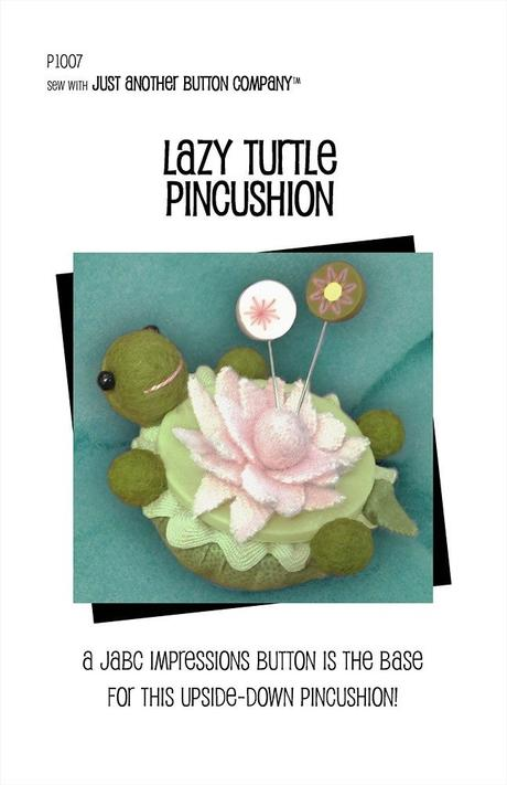 Lazy Turtle Pincushion PDF