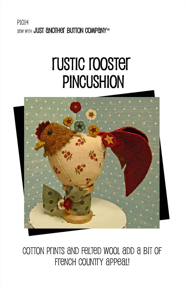 JABC - Pincushion Patterns - Rustic Rooster