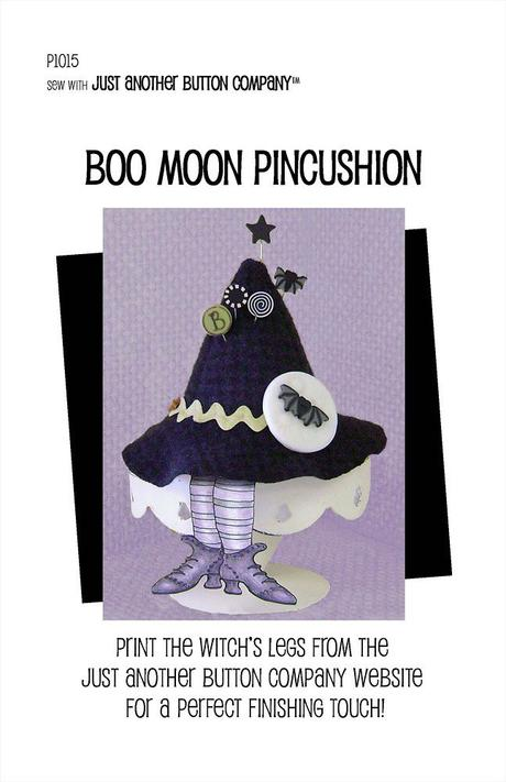 JABC - Pincushion Patterns - Boo Moon