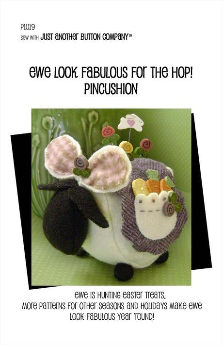 JABC - Pincushion Patterns - Ewe Look Fabulous for the Hop
