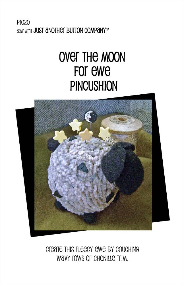JABC - Pincushion Patterns - Over the Moon for Ewe