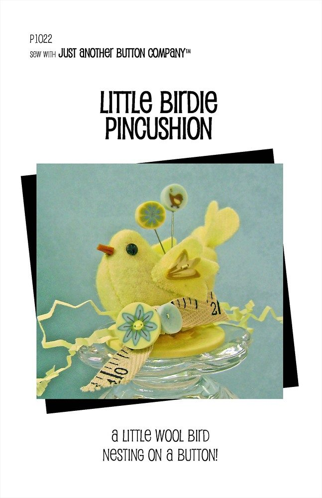 JABC - Pincushion Patterns - Little Birdie