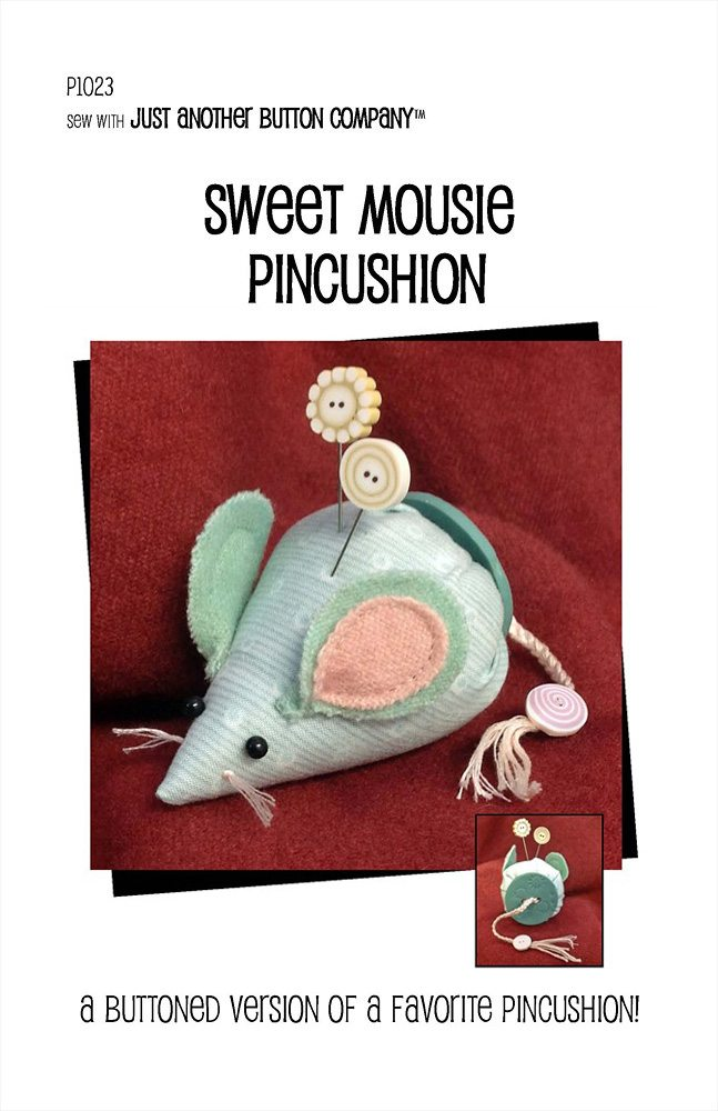 JABC - Pincushion Patterns - Sweet Mousie