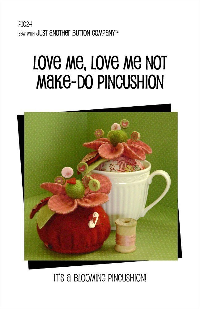 JABC - Pincushion Patterns - Love Me, Love Me Not