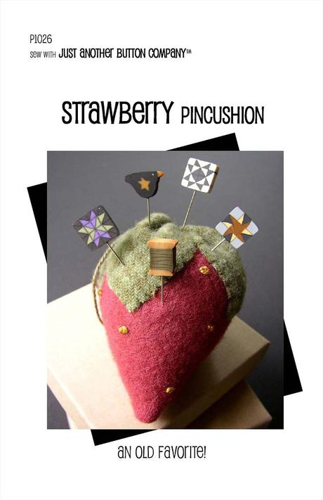 JABC - Pincushion Patterns - Strawberry Pincushion