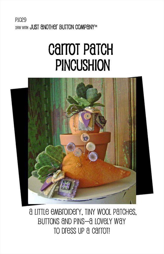 JABC - Pincushion Patterns - Carrot Patch