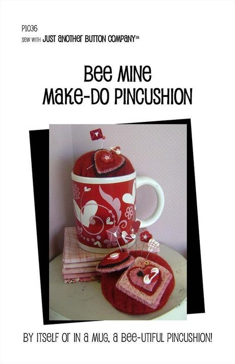 JABC - Pincushion Patterns - Bee Mine