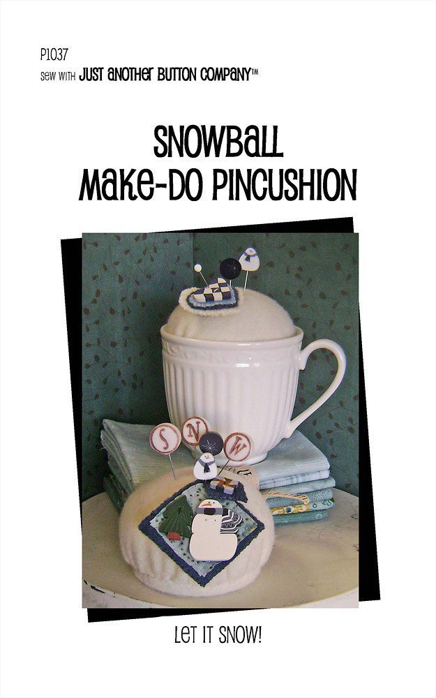 JABC - Pincushion Patterns - Snowball